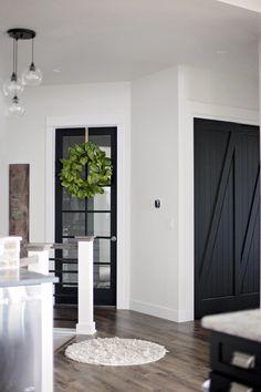Black Interior Door Paint Color. Black Interior Door Paint Color Ideas. Black Interior Door Paint Color. Black Interior Door Paint Color #BlackInteriorDoorPaintColor #BlackInteriorDoor #PaintColor #BlackDoorPaintColor Home Bunch's Beautiful Homes of Instagram @household no.6