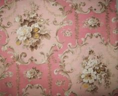 ideas for antique wallpaper vintage french fabric Victorian Wallpaper, Antique Wallpaper, French Decor, French Country Decorating, Kitsch, French Fabric, Textiles, Vintage Fabrics, Soft Colors