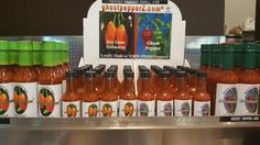 Check out our #fromFlorida Bruce's Ghost Hot Sauces at Bedner's Farm Fresh Market & Bedner's Farm Fresh Market-Delray  SHOP LOCAL at:  www.ghostpepperZ.com/find-us.html  #hotsauce #hotsauces #foodies #foodie #spicylife #bednersmarket #shoplocal #buylocal #shopsmall #ghostpepperZ