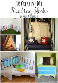 10 creative DIY reading nooks