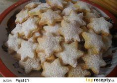 Tvarohovo-vanilkové hvězdičky recept - TopRecepty.cz