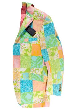 Lilly Pulitzer Sport Coat     Size 42 R