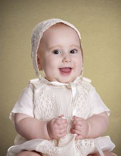 Happy christenings make for happy babies.