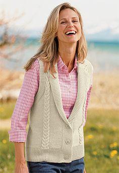 Düğmeli Örgü Bayan Yelek #crochet #knit #knitting #skirt