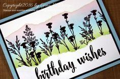 Gina K. Designs, Stamp TV:GKD Handmade Botanicals,  Massive Messages, and inks