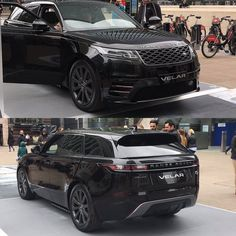 The Range Rover Velar on display at Canary Wharf in London. #rangerover #Velar #canarywharf #london