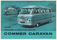 1954 Commer Caravan Brochure | OldBrochures.com