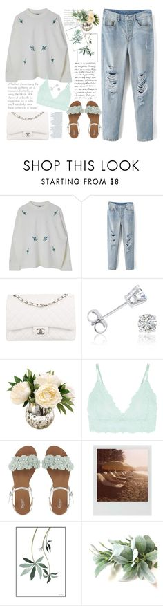 """""""herbal atuendo"""" by licethfashion ❤ liked on Polyvore featuring Chanel, Amanda Rose Collection, Accessorize and Polaroid"""