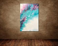 Beautiful abstract painting in light colors. Ideas for living room Geometric Painting, Oil Painting Abstract, Abstract Wall Art, Canvas Wall Art, Colorful Paintings, Your Paintings, Beautiful Paintings, Christmas Paintings, Erotic Art