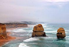 The Twelve Apostles Great Ocean Road Victoria Australia  #twelveapostles #greatoceanroad #victoria #australia #beautiful #skyscape #sky #clouds #ocean #sea #seascape #waves #beach #rocks #landscape #cliffs by images_speak
