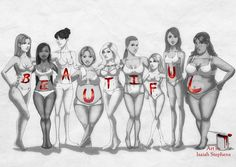 This image pertains to the class because we spoke about body image and how people should accept the body that they have.
