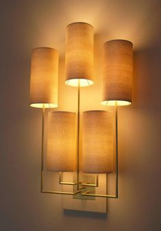 """Wall Lamp """"Tige5"""" Wooden Sconce by Aymeric Lefort 5"""
