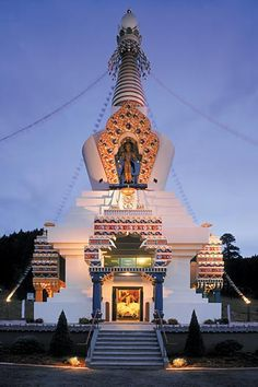 The Great Stupa of Dharmakaya, Shambhala Mountain Center, Colorado