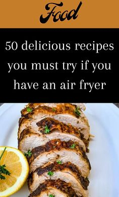 Do you have an air fryer? Are you thinking about getting one? Is the one you have collecting dust? Air fryer recipes can go really right or really wrong. #50 #deliciousrecipes #airfryer Air Fryer Oven Recipes, Air Fry Recipes, Air Fryer Dinner Recipes, Cooking Recipes, Cooks Air Fryer, Good Food, Yummy Food, Air Fryer Healthy, Diy Food