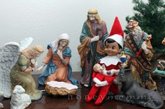 """dirty elf on a shelf 