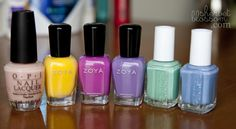 spring nail polish colors.