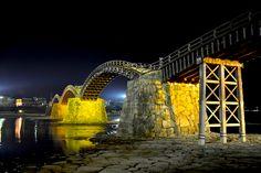 山口県岩国市/錦帯橋。