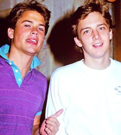 andrew mccarthy | Rob Lowe Tumblr........omg loved them!