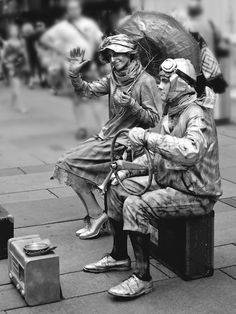 Street performers  by Andrea Rapisarda on 500px