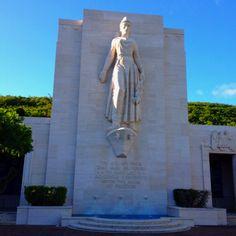 Punchbowl National Cemetery  Oahu, Hawaii