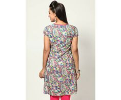 Short Sleeve Printed Kurta : http://lamora.in/kurtis/short-sleeve-printed-kurta.html?limit=100