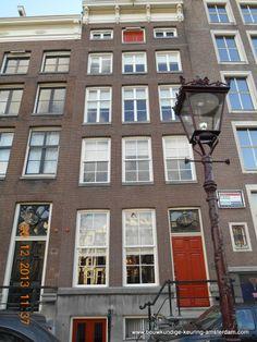 Keizersgracht 269 Amsterdam - Fred Tokkie heeft de bouwkundige keuring uitgevoerd van dit rijksmonument van bijna 1000 m2 groot. Het grachtenpand heeft 17 kamers en is in een zeer originele staat.