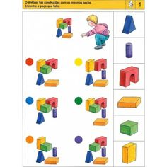 Kindergarten Learning, Preschool Learning, Kindergarten Worksheets, Brain Activities, Classroom Activities, Preschool Activities, Visual Perception Activities, Sequencing Cards, File Folder Activities