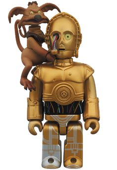 MEDICOM TOY - KUBRICK C-3PO & SALACIOUS CRUMB