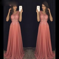 Prom Dress,Prom Gown,Chiffon Sweep Train Evening Dress,Evening Gown