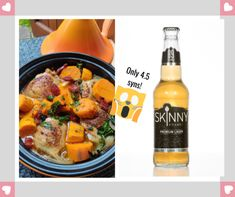 Beer-braised Chicken, Chorizo and Sweet Potato Casserole ft. SkinnyBrands Premium Lager — Slimming World Survival Slimming World Cake, Slimming World Recipes, Braised Chicken, Chicken Chorizo, Syn Free Gravy, Raspberry Roulade, Slimming World Survival, Low Fat Sausages, Healthy Extra A
