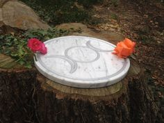 Triple Goddess Pagan Wiccan Altar Table/Tile by FascinatingFindsuk