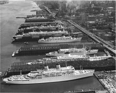 Luxury Liner Row-Hudson RiverNYC