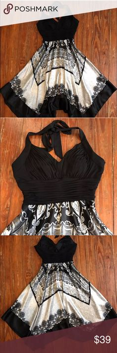Alesia Dress, Black Tie Event, Halter Thank you for looking at my listing!!  This listing is for a ALESIA Halter Dress size 8. (Runs slightly smaller closer to a size 4) If you have any questions about this item feel free to leave me a comment!! Alesia Dresses Backless