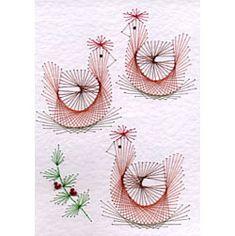 Three French hens Rectangle | Christmas Rectangle | Christmas ...
