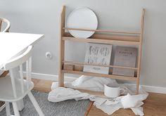 Plate rack from Trendenser - interior blog Plate Racks, Kitchen Styling, Ladder Decor, Dining, Interior, Instagram Posts, Furniture, Home Decor, Police