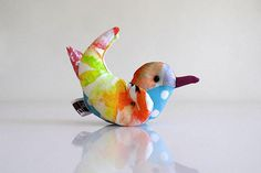 Room deco from ateliertama on Etsy - Bird, placed card holder, wedding decor, colorful wings, bird lovers gift, window deco, small blue bird