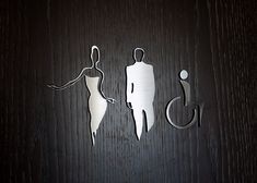 We are loving these elegant restroom sign designs, custom signs are a great way to convey your brand and create a unique visitor experience. Hotel Signage, Wayfinding Signage, Signage Design, Toilet Signage, Bathroom Signage, Toilet Symbol, Roof Replacement Cost, Restroom Design, Toilet Design