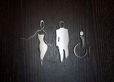Nice Restroom Signage