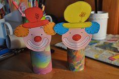 Clown - noch ohne Arme