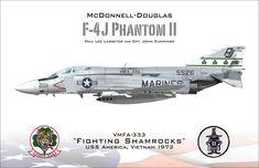 F-4 Phantom II Profile Lee Lasseter by N0T3R