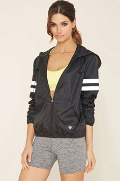Shop Now - >  https://api.shopstyle.com/action/apiVisitRetailer?id=615799817&pid=2254&pid=uid6996-25233114-59 FOREVER 21+ Active Varsity-Striped Jacket  ...