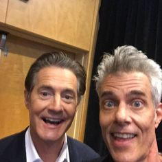 Selfie with Kyle MacLachlan at SDCC! by Dana Ashbrook http://ift.tt/2uYPTmh via http://ift.tt/OF8QRD