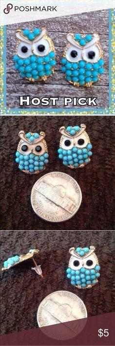 Spotted while shopping on Poshmark: (G2) Owl Earrings! #poshmark #fashion #shopping #style #Jewelry