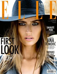 Maja Latinovic is Nomadic Chic for Elle Serbia August Cover Shoot