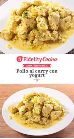 Pollo al curry con yogurt with chicken nuggets Pollo al curry con yogurt Best Dinner Recipes, Indian Food Recipes, Asian Recipes, Pollo Light, Cena Light, Pollo Chicken, Chicken Curry, Italian Snacks, Yogurt Curry