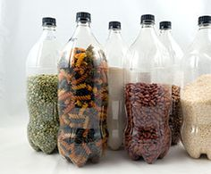 dry shelf-stable foods can be stored in PET (PETE) bottles with oxygen absorbers for up to 5 years
