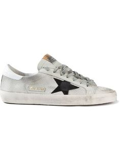 Golden Goose Deluxe Brand Star Appliqué Distressed Sneakers - Dante 5 Men - Farfetch.com