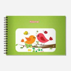 What a cute #Personalized-SketchBook for kids who love #Art_Craft