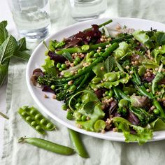 Dry couscous salads are history - add barbecued broccoli and fresh broad beans for a summer smash.