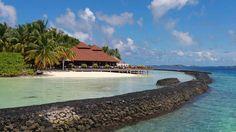 The Taj Exotica Resort and Spa in the #Maldives